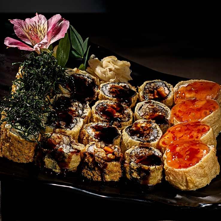 Receita de Hot Roll: o sushi mais amado do Brasil